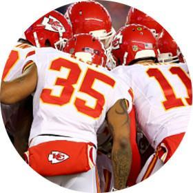 KANSAS CITY CHIEFS AT ARROWHEAD